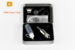 Wholesale King Screws - KING Vapor Tank Odorless Vaporizer Set Universal Atomizer For Dry Herb Wax Oil E-liquid With 510 Screw Thread Compatible 092