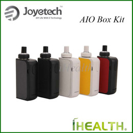 Wholesale Wholesale Lock Box - Joyetech eGo AIO Box Starter Kit 2100mAh Built-in Battery 2ml Tank Capacity with Anti-leaking Structure Child Lock 100% Original