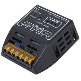 Wholesale 12v Solar Powered Regulator - Promotion! 12V 24V 20A Solar Panel Charger Controller Regulator