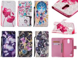 Wholesale Moto Girl - Hot Sale card Print Stand butterfly rose girl wallet Flip Leather Case for LG LS775 stylo 2plus stylo 3 plus MOTO G4 play sony Z3 Z5 E6 XA U