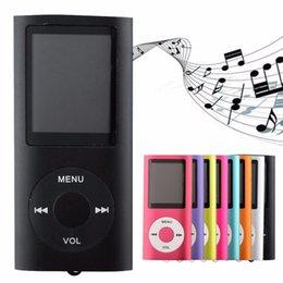 """Wholesale Mp3 32 Gb - Delgado 1.8 """"cuarto gen 32 GB 9 Colores para elegir reproductor de mp3 tiempo de reproducción de Música 30 Horas de radio fm ebook reproduct"""