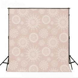Wholesale Pattern Master - Kate 5x7ft Photography Backdrop Retro Pattern Light Pink Photo Background Cotton No Wrinkle Backdrops for Photographers backdrop J01549