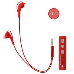 Wholesale Iphone4s Headphones - STN700 Bluetooth Sport Earphones Wired Headphones for Iphone4s,5s,6 ,Samsung,LG,HTC with Retail Box DHL