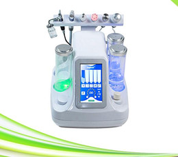Wholesale Diamond Crystal Microdermabrasion Machines - 6 in 1 used crystal skin bella diamond microdermabrasion cleaning suction blackead microdermabrasion machine
