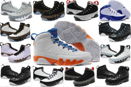 Wholesale Cheap Cotton Canvas Fabric - Cheap Retro 9-10-11-12-13 Mens Basketball Shoes Sports Shoes Wholesale Men Retro 9 IX Basketball Shoes outdoor sneakers training shoes 5-7-8