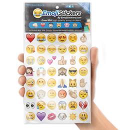 Wholesale Most Popular Kids - Emoji Sticker Pack Emoji Stickers Most Popular Emojis For Mobile Phone Kids Rooms Home Decor Tablet