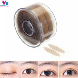Wholesale Eye Shadow Sticker Instant - Wholesale-New Hot 600pcs Stealth Double-Fold Eyelid Shadow Sticker Instant Eye Lift Double Eyelid With Beautiful Eye Allergy Eyelid Tools
