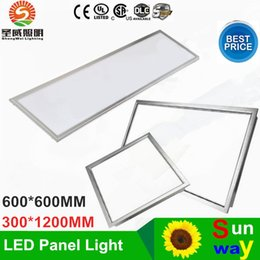 2019 luz de techo de altos lúmenes 2016 Nuevo 600X600 300X1200 llevó el panel ligero Cuadrado 36W 48W Alto Lumen llevó la luz del panel de techo ac 85-265V + Drivers luz de techo de altos lúmenes baratos
