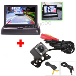 Wholesale Dashboard For Toyota Car - Auto Parking Assist System 2 in 1 Car Rear View Camera With Monitor,Night Vision Car Reverse Parking Camera With Monitor For Security