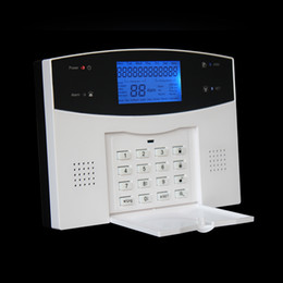 Wholesale Wireless Home Alarm Systems Kit - CE colorful box spanish english french russia version door alarm sensor kit sms remote arm   disarm wireless alarm system for home security