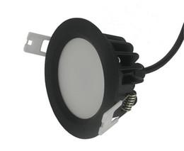 Venta caliente de fábrica Regulable 12W impermeable IP65 led downlights empotrada lámpara led lámpara de techo con controlador de led tamaño 90mm * 45mm AC85-265V desde fabricantes