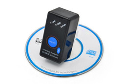 Wholesale Elm 327 Switch - Super Mini ELM 327 with switch ELM327 Bluetooth OBD2 OBD II CAN-BUS Diagnostic Tool + Switch Works on Android Windows from alisy