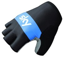 Wholesale Cycling Gloves Tour - Factory wholesale Tour of France Teams Edition KY bicycle Cycling Gloves guantes ciclismo mtb gloves half finger Racing road bike gloves