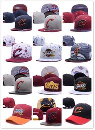 Wholesale Men Snap Back Hats - wholesale, 2017 Fashion Cleveland Adjustable Cavaliers Snapback Hat Thousands Snap Back Hat For Men Basketball Cap Lebron Hat Baseball Cap
