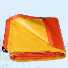 Wholesale Pe Net - Thicker Tarp Tent Car Tarpaulin UV Resistant Rip tarpaulin with grommets edge tarpaulin orange PE shade sails rain cloth