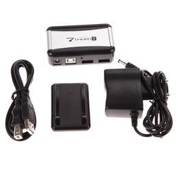 Cabo de alimentação para adaptador de laptop on-line-7 Portas USB 2.0 Hub Hubs de Alta Velocidade com Plugue DA UE AC Power Adapter Cable para PC Laptop Barato Hubs USB