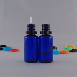 Wholesale Cheap Wholesale Prices Bottles - PET Bottles 10ml 30ml Plastic Bottles Tamper Proof Cap Clear Blue Needle Bottles For E Liquids Cheap Price Free Shipping