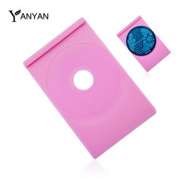 Wholesale Nail Polish Stand Wholesale - Wholesale- 1pcs Nail Art Stamping Plate Holder Stand Tray for DIY Polish Paint Stencil Nail Template Tools