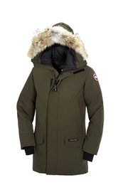 Wholesale Fur Coats Canada - DHL Free Shipping Big Raccoon Fur Top 2018 Men's Langford Parka Chilliwack Winter Jacket Arctic Coat Hoodie Sale Outlet Factory Canada