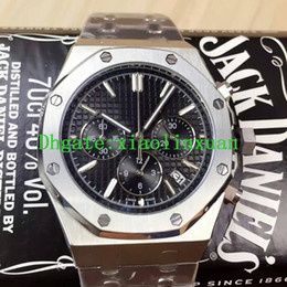 Wholesale Modern Import - 2016 New Products Recommended Luxury Brand AAA Quality 26320ST Luxury Royal Men's Watch Imported Multifunctional Quartz Stainless Steel 42mm