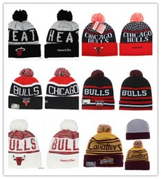 Wholesale Plain Football Tops - Good Sale 2017new style top quality Cotton Beanies Hat For Men Cheap football Basketball Knitted Hat Sport Skullies Warm Women Winter Hat