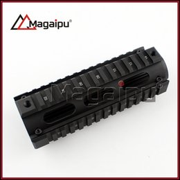 Wholesale Handguard Rails - Tactical M016 M16 Handguard Carbine Length 2 Piece Metal 7 inch Quad Rail System