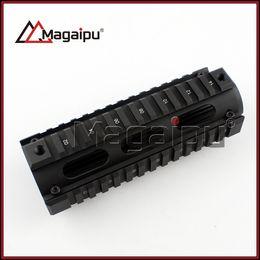 Wholesale Tactical Handguard - Tactical M016 M16 Handguard Carbine Length 2 Piece Metal 7 inch Quad Rail System
