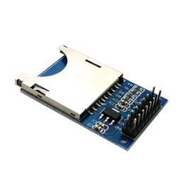 Wholesale Read Write Arduino - SD Card Module Slot Socket Reader For Arduino ARM MCU Read And Write T1589 W0.5 Wholesale
