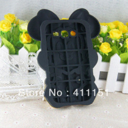 Wholesale Galaxy Grand Duos 3d Cases - Free Shipping 3D Minnie Soft Silicone Cover Back Rubber Case For Samsung Galaxy Grand Duos i9082,mobile phone case