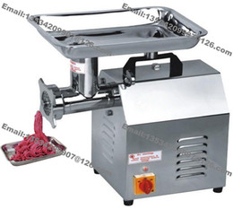 Wholesale Mince Grinder - Free Shipping 120KG H Heavy Duty 110v-240v Electric Restaurant Butcher Shop Kitchen Sausage Beef Meat Grinder Mincer Maker Mincing Machine