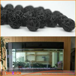 Wholesale Wet Dry Aquarium Filters - Black Aquariums Accessories 16mm Biological Bio Balls Aquarium Pond Fish Nano Tank Wet Dry Canister Filter Media