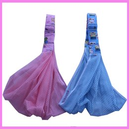 Wholesale Horizontal Baby Carrier - Net Breathable Front Facing Shoulder Toddler Carrying Hipseat Portable Ergonomic Wrap Four Position Baby Carrier