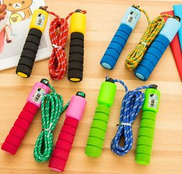 Wholesale Wholesale Skipping Ropes - Sports Toys Count skipping rope children training skipping fitness competition student