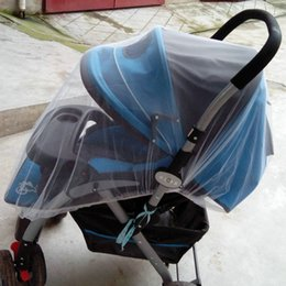 Wholesale Wholesale Netting - Wholesale-Crib Netting 2016 Cotton High-quality Baby Stroller Mosquito net Umbrella Stroller Accessories Enlarge Wholesale Hot Sale