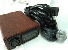 Wholesale Wood Boxes Cheap - free dhl wholesale wood e nail Cheap DNail PID Temperature Control Electric Dabber E Nail Box Kit Flat 16mm 20mm Complete Smart Digital mod