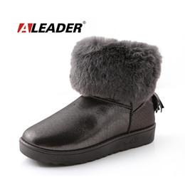 Wholesale Comfortable Warm Winter Boots - Wholesale- Women Snow Boots Winter Warm Fur Shoes 2015 Fashion Ankle Boots Shoes for Woman Ladies Snow Boots Comfortable botte femme