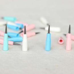 2019 caixas de lápis coloridas por atacado 400 pçs / lote Mini Lápis Recargas Fácil de Usar Escola Escritório Papelaria Lápis Recarga Para O Miúdo Crianças Lápis Suprimentos Material Escolar4000