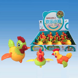 Wholesale Toy Wind Up Chickens - Kids Toys Wind up Toy Kawaii Roosters Clockwork Cartoon Cute Chicken Animal Toy Brinquedos Juguetes Gifts Educational Toys 3PCS