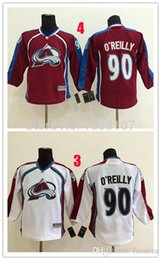 Wholesale Ryan O Reilly - 2016 Youth Colorado Avalanche Jerseys #90 Ryan O`Reilly Ice Hockey Jersey,100% Stitched Name And Number,Accept Mixed Orders