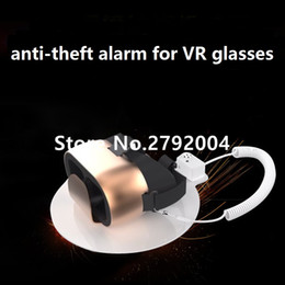 Wholesale Electronic Device Security - Wholesale- 10xVR glasses security display alarm stand watch anti-theft device camera holder for Electronic,Phone,PC,earphone,other exhibit