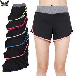 Wholesale Women S Beach Pants Cotton - Wholesale-Summer Women's Sports Shorts Fitness cotton Yoga Shorts Quick-dry Womens Tracksuits Run Slimming Beach Running Ladies Gym Shorts