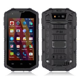 Wholesale H5 Inch - 2016 ALPS S930D IP67 Waterproof Shockproof smart phone MTK6580 Quad Core 4.0 Inch Android 5.1 3G HUMMER H5 Improve