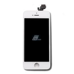 Wholesale Hot Touch Digitizer - 100% white Hight Test For Apple Screen Hot Replacement Digitizer Glass Touch Screen For iPhone 5 5G LCD Display Assembly Free Shipping