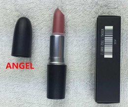 Wholesale Velvet Brand - hot selling AAA quality brand Makeup Matte Lipstick 3G please me honey love velvet teddy Long-lasting Lipstick
