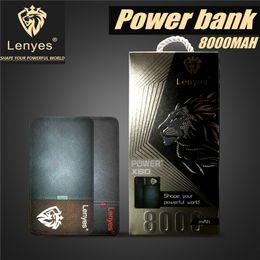 Wholesale Galaxy Note External Battery - Original 8000 mAH Power Bank Powerbank For Iphone X 8 Plus Galaxy S8 Plus Note 8 External Battery