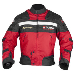 Wholesale off road armor - DUHAN Motorcycle racing jackets Body Armor Protective Moto Jacket Motocross Off-Road Dirt Bike Riding Windproof Jaqueta Clothing