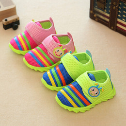 Wholesale Antiskid Shoes - Fall 016 sneakers breathable mesh cloth shoes baby toddler boys shoes women's shoes children single antiskid soft bottom shoes