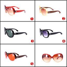 Wholesale Cheap Oval Frames - Wholesale Cheap Plastic Round Sunglasses Brand Designer Woman Beach Sun Glasses Big Frame Hot Sale Overiszed Black Eyegalsses Red