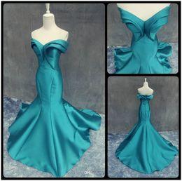 Wholesale Emerald Taffeta - Modern Emerald Green Long Evening Dresses 2017 Under $100 Sweetheart Ruffles Mermaid Evening Gown Formal Women Events Special Occasion Dress