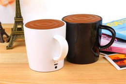Wholesale Mobile Coffee - coffee cup speaker with voice record function mini Bluetooth speaker wireless hands free music player for smart votes hone Tablet 23W-YX